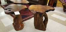 Redwood Side Tables, Custom