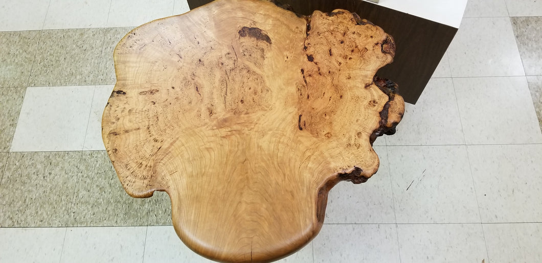 Cherry Burl Side Table