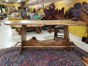 High Top Oak Bar or Gathering Table