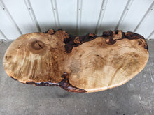 North Carolina Hard Rock Maple Live Edge Coffee Table