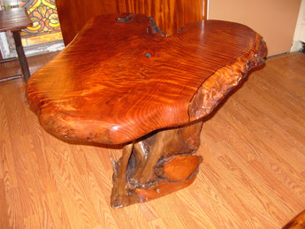 REdwood Lamp Table