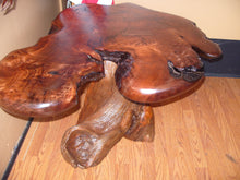 Redwood Burl Side Table