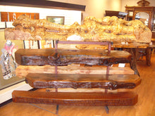 Maple Cluster Burl Mantel