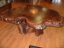 Claro Walnut Burl Coffee Table