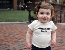Eliminate Hate Onesie