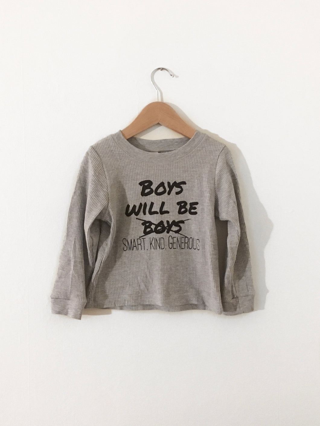 Boys Will Be Long Sleeve