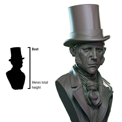 Infamy: Collectibles - Doctor Jekyll Bust