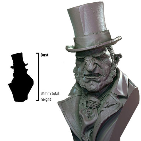 Infamy: Collectibles - Mr Hyde Bust