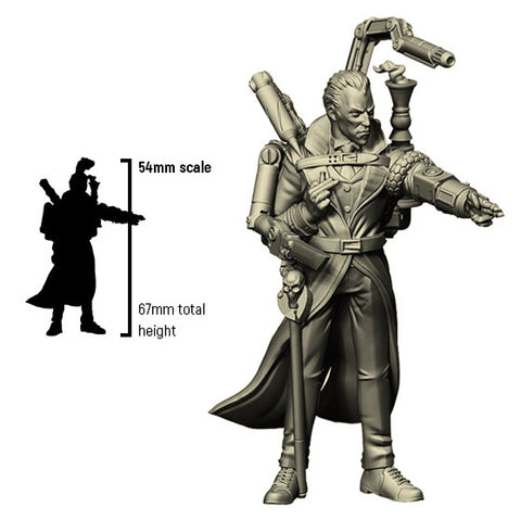 Infamy: Collectibles - Sherlock Holmes (54mm scale)