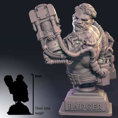 Infamy: Collectibles - Badger Bust