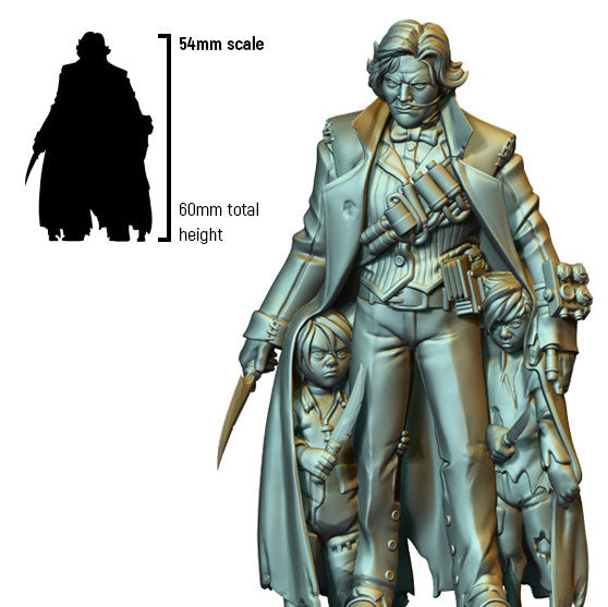 Infamy: Collectibles - Mr Dodgson (54mm scale)
