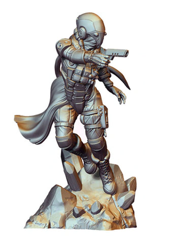 Infamy: Collectibles - Gaming Scale Dynamic Tara