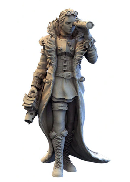 Infamy: Collectibles - Gaming Scale Steampunk Tara