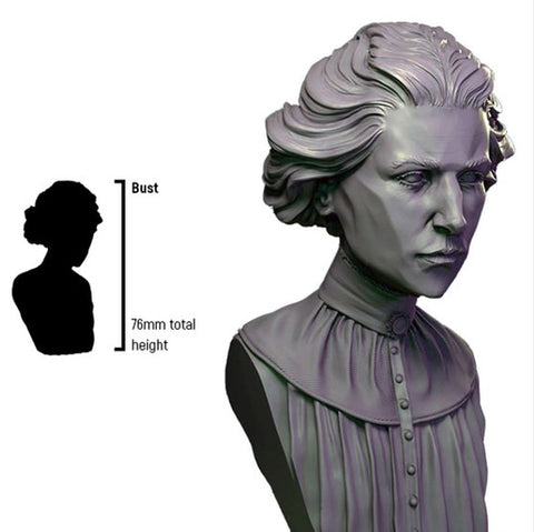 Infamy: Collectibles - Doctor Shelly Bust