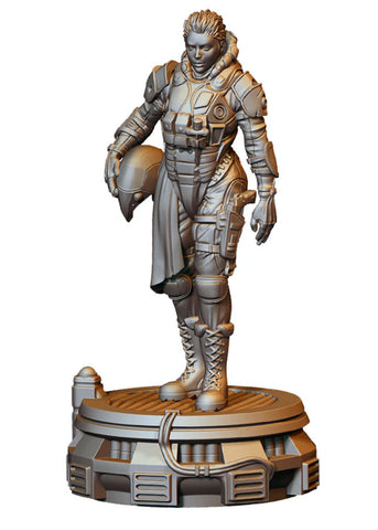 Infamy: Collectibles - 54mm Scale Static Tara