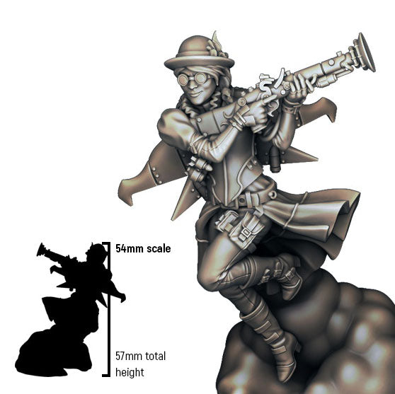 Infamy: Collectibles - Trudy May (54mm scale)