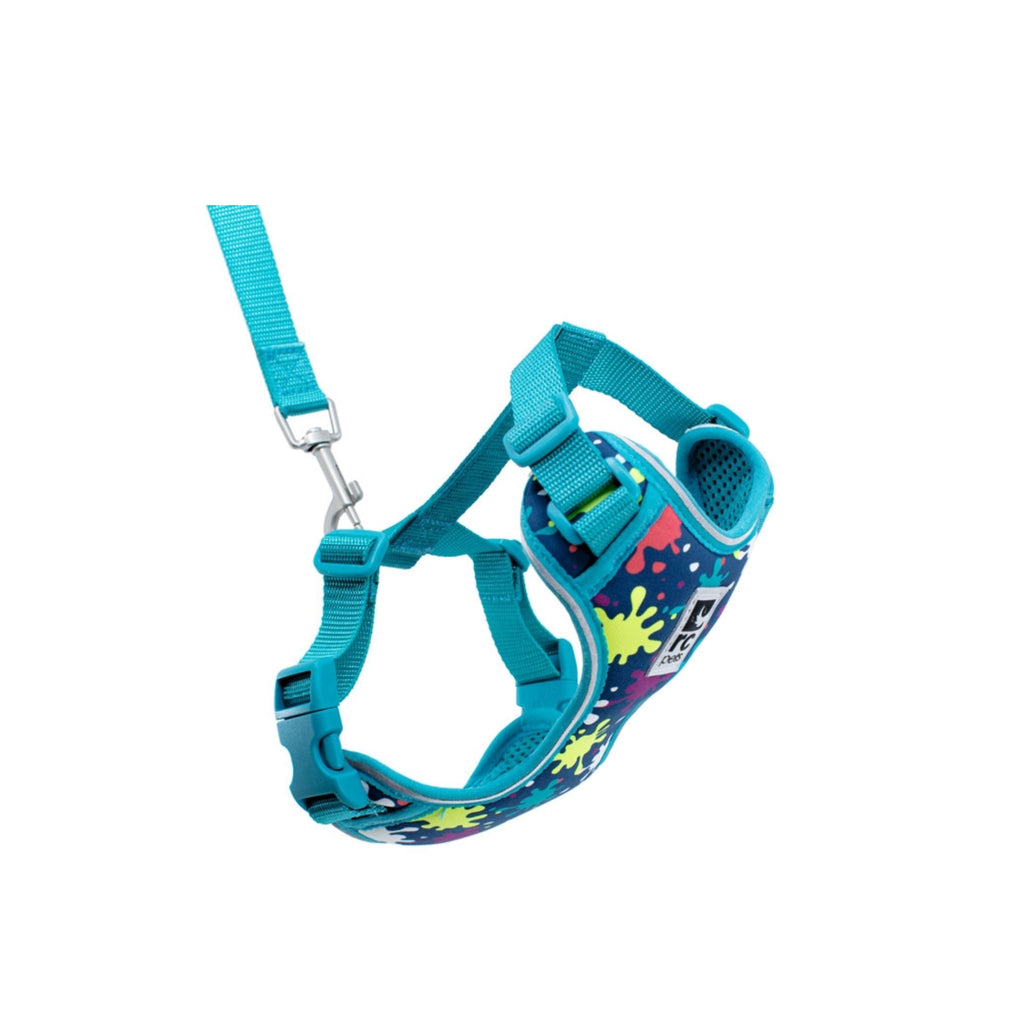 Adventure Kitty Harness And Leash - Splatter