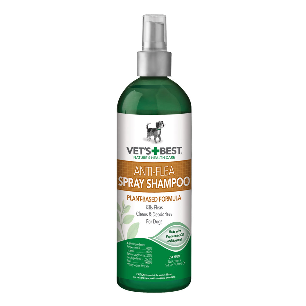 Vet's Best Dog Anti-Flea Spray Shampoo