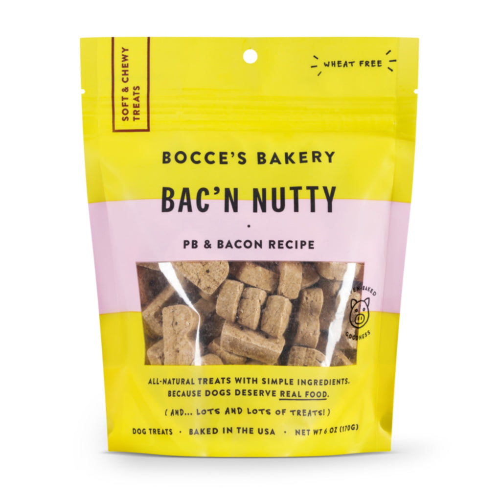 Bac'n Nutty Soft Treat 6oz