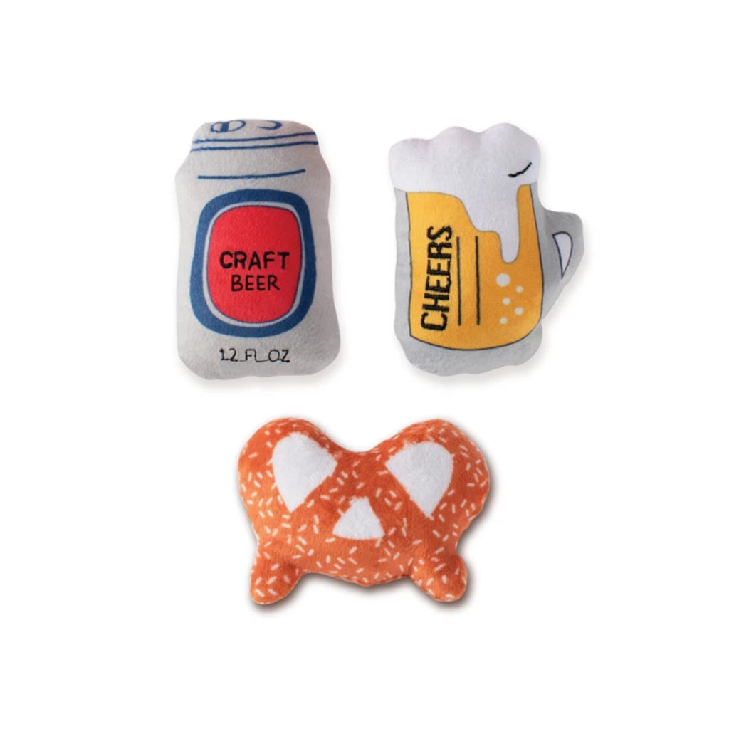 Beer Minis Small Dog Toy