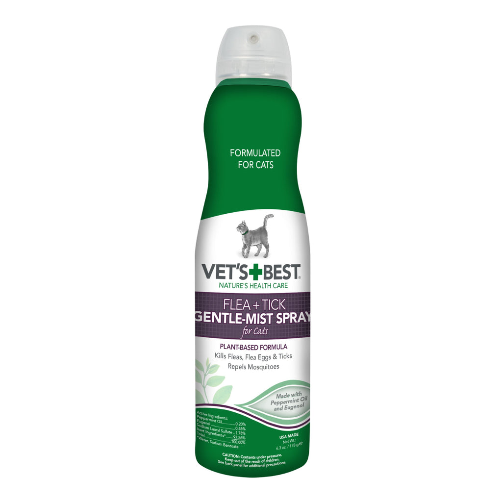 Vet's Best Cat Flea & Tick Gentle Mist