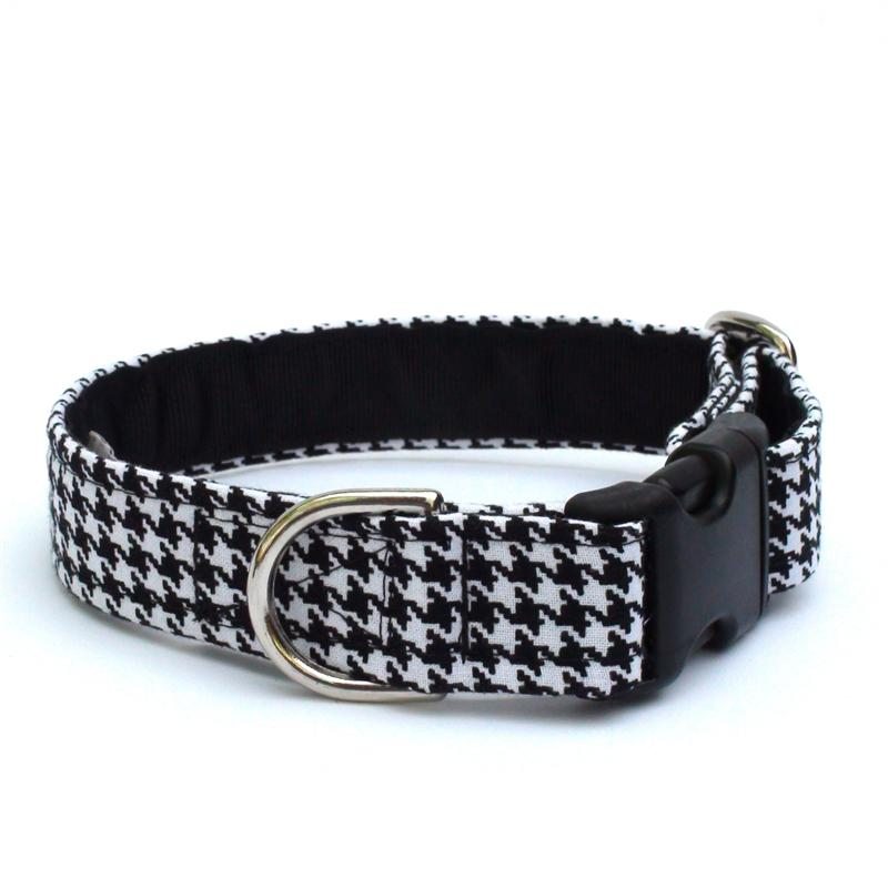 Black & White Houndstooth Collar