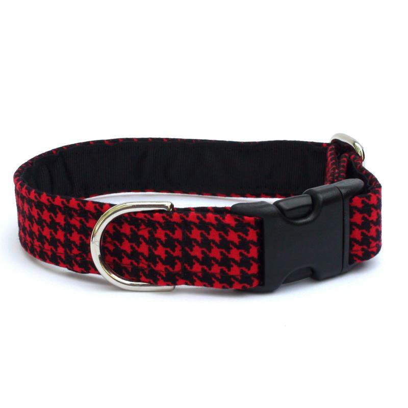 Black & Red Houndstooth Collar