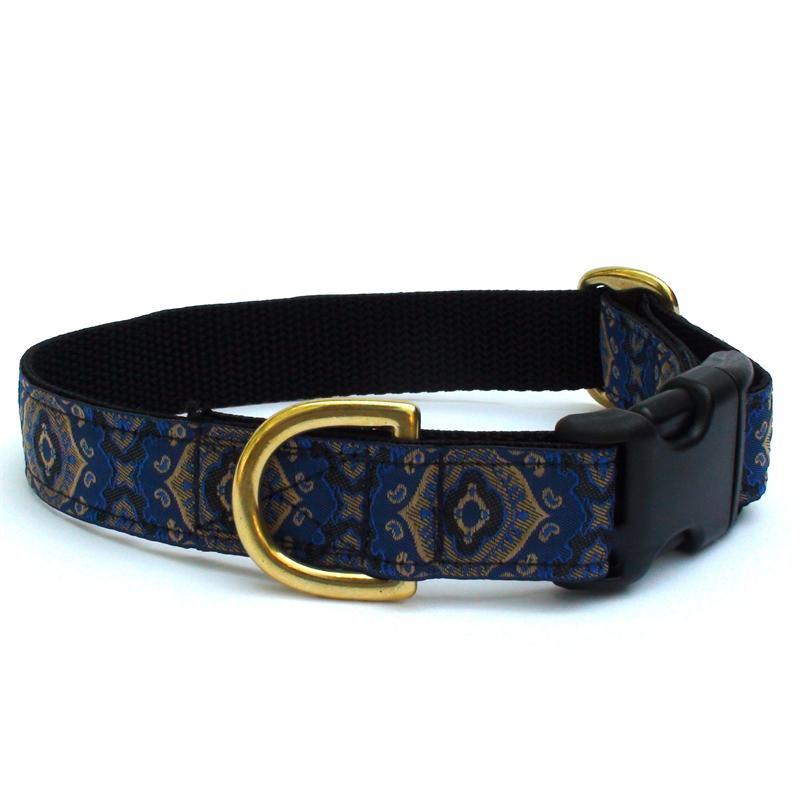Blue Medallion Collar