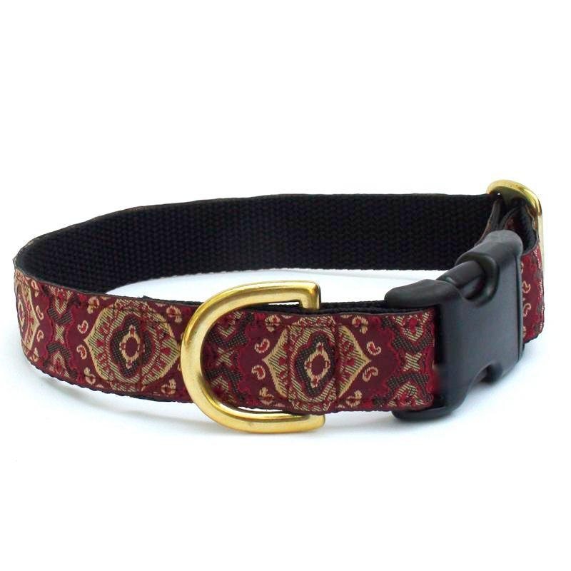 Crimson Medallion Collar