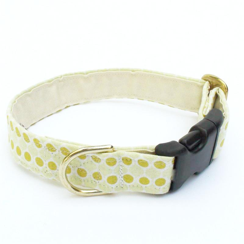 Yellow Bubbles Collar