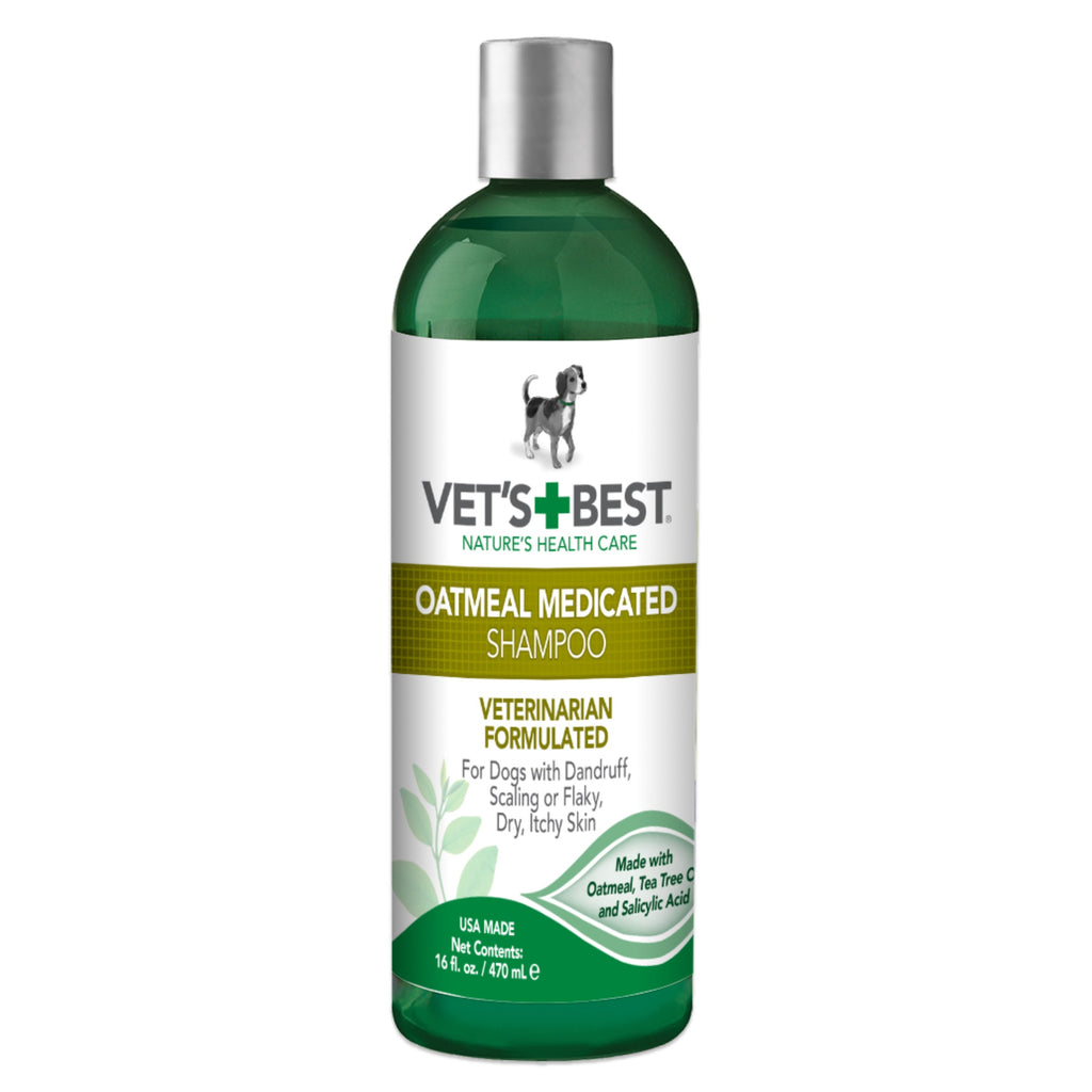 Vet's Best Dog Oatmeal Medicated Shampoo
