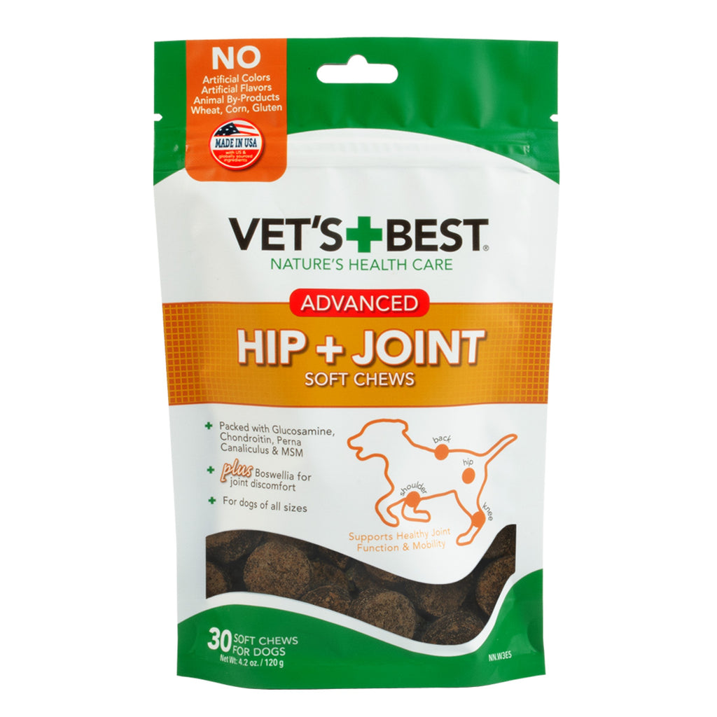 Vet's Best Advanced Hip & Joint Chews
