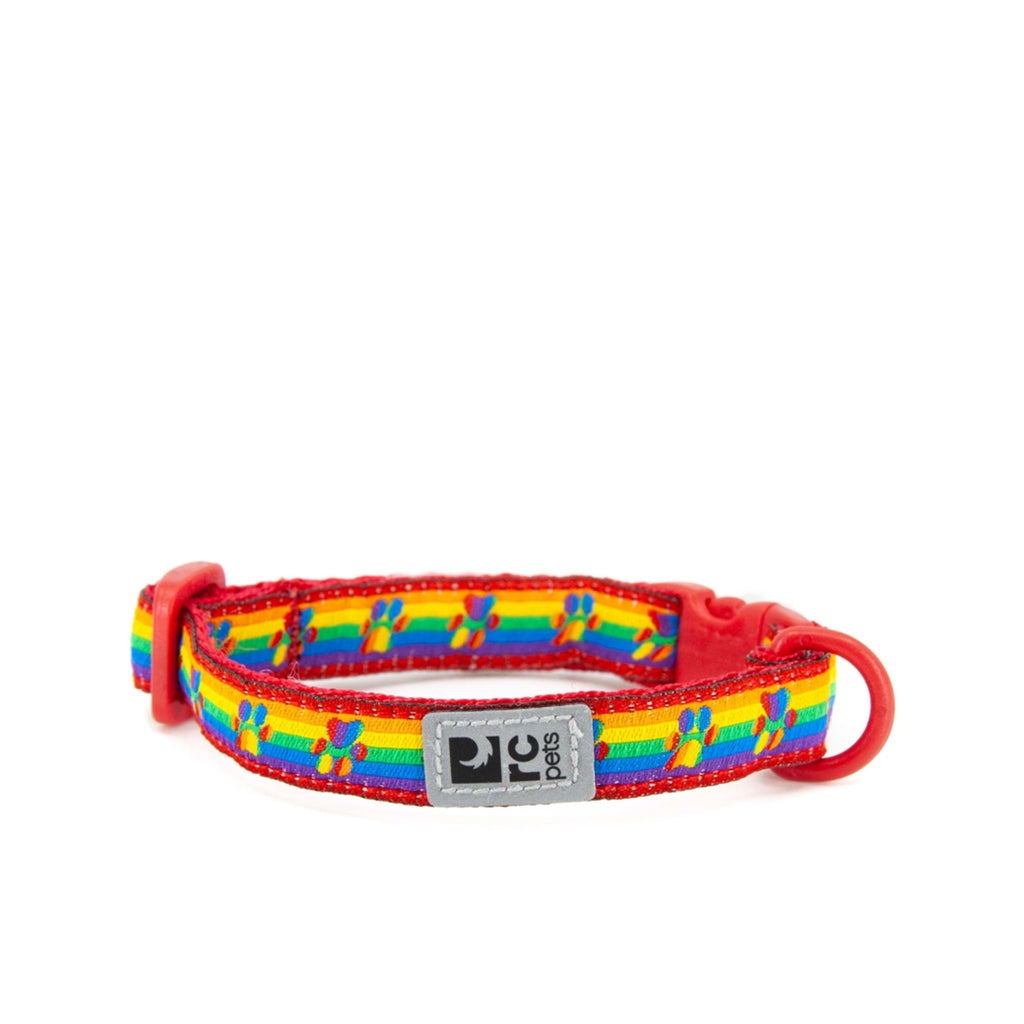 Kitty Breakaway Collar - Rainbow Paws