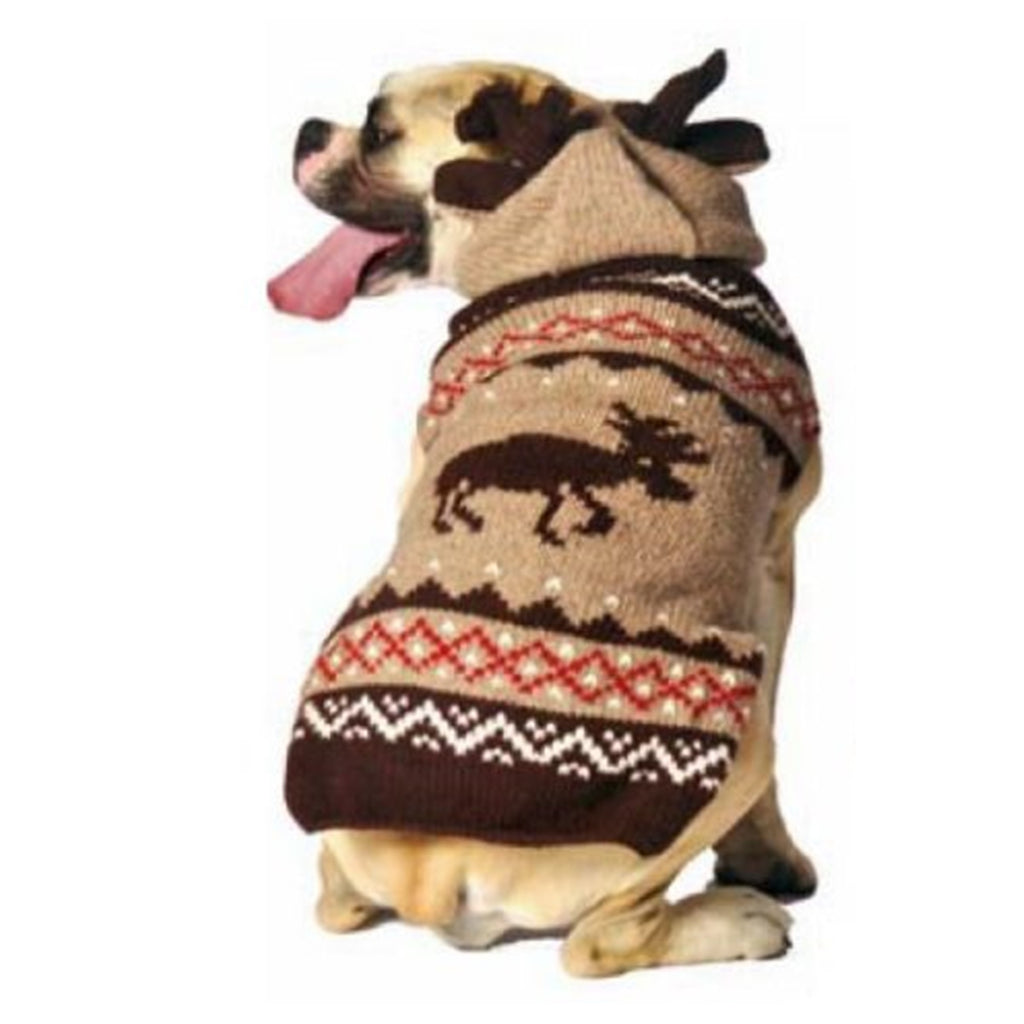 Moosey Hoodie Dog Sweater