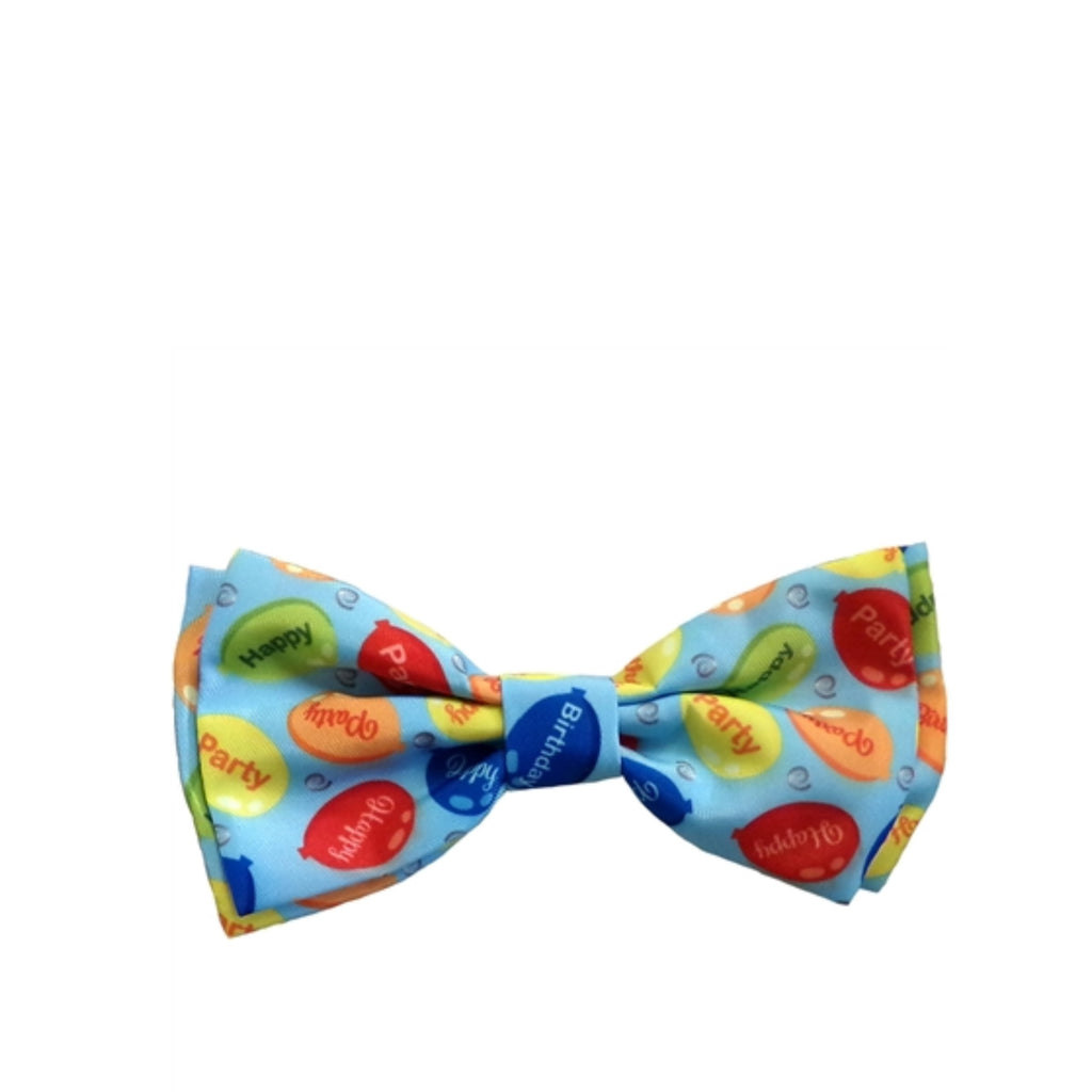 Party Time Blue Bow Tie