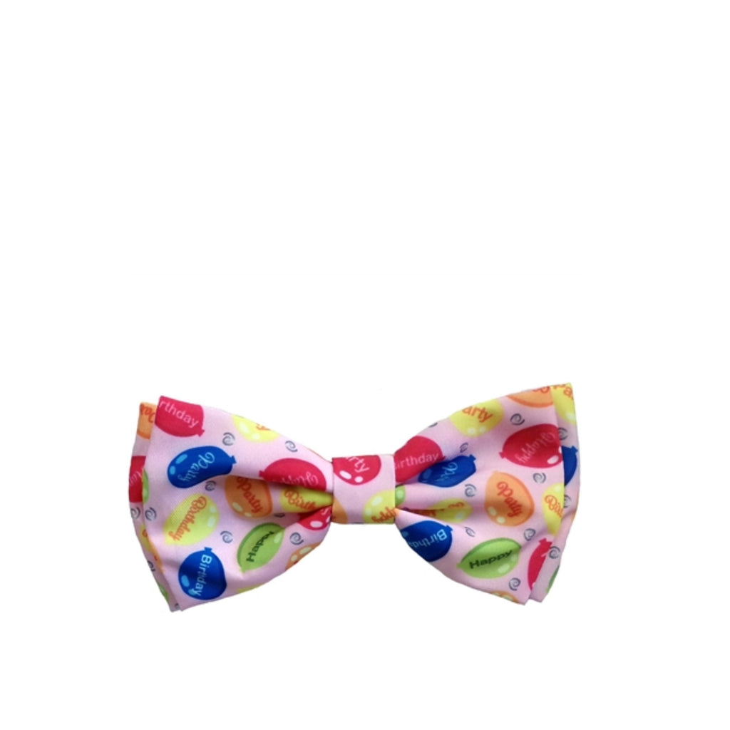 Party Time Pink Bow Tie