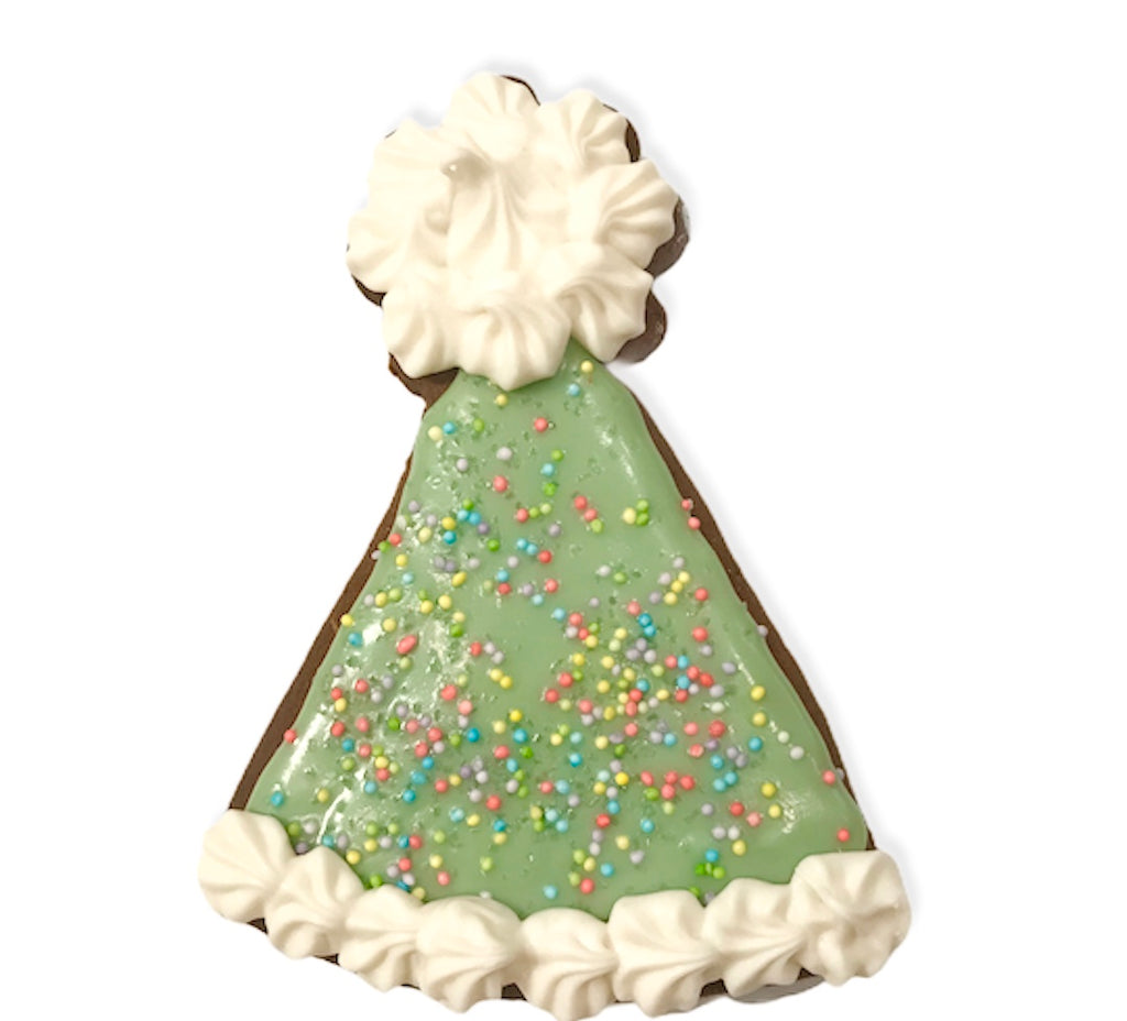 Party Hat Cookie