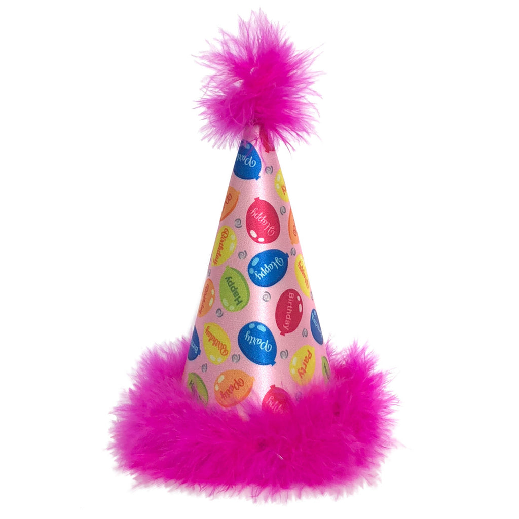 Pink Party Time Party Hat