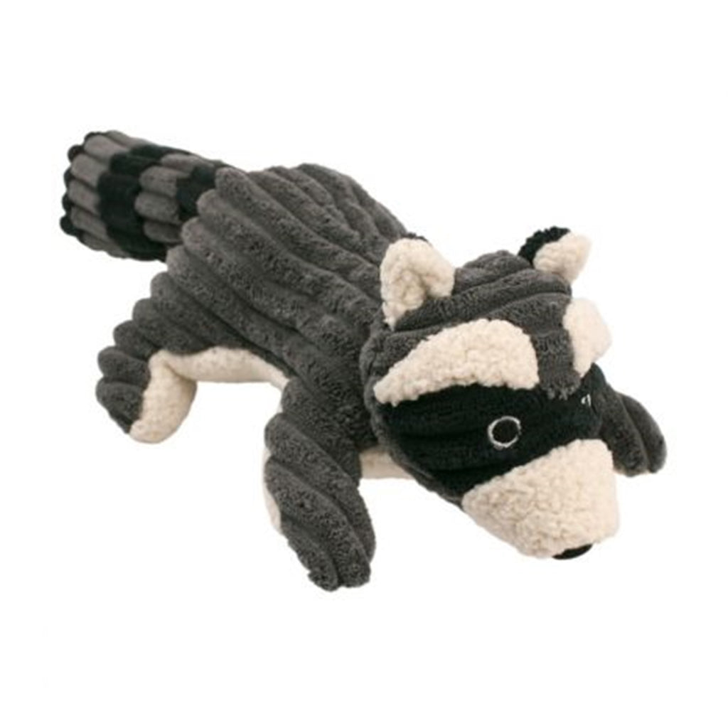 Raccoon Squeaker Dog Toy 12""