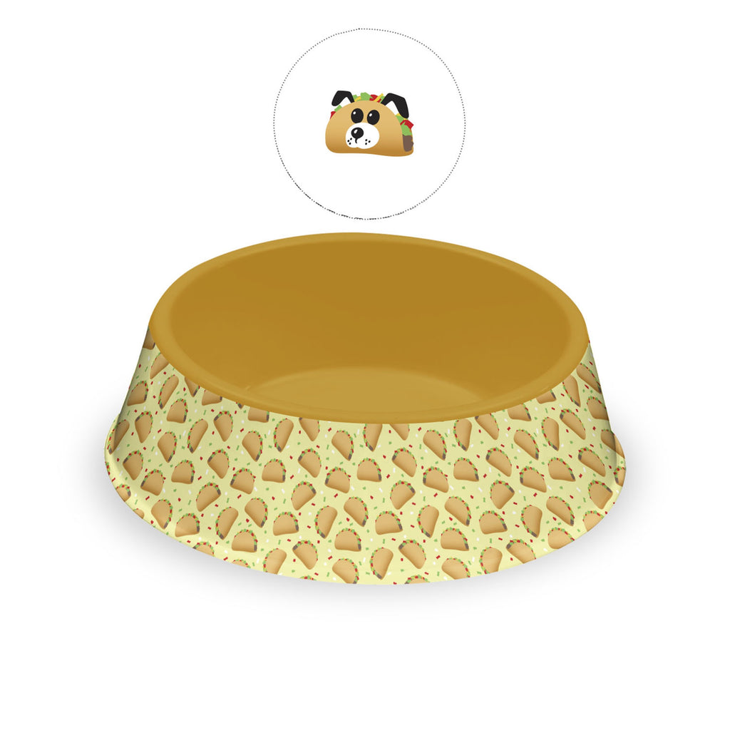 Taco Pet Bowl-Large