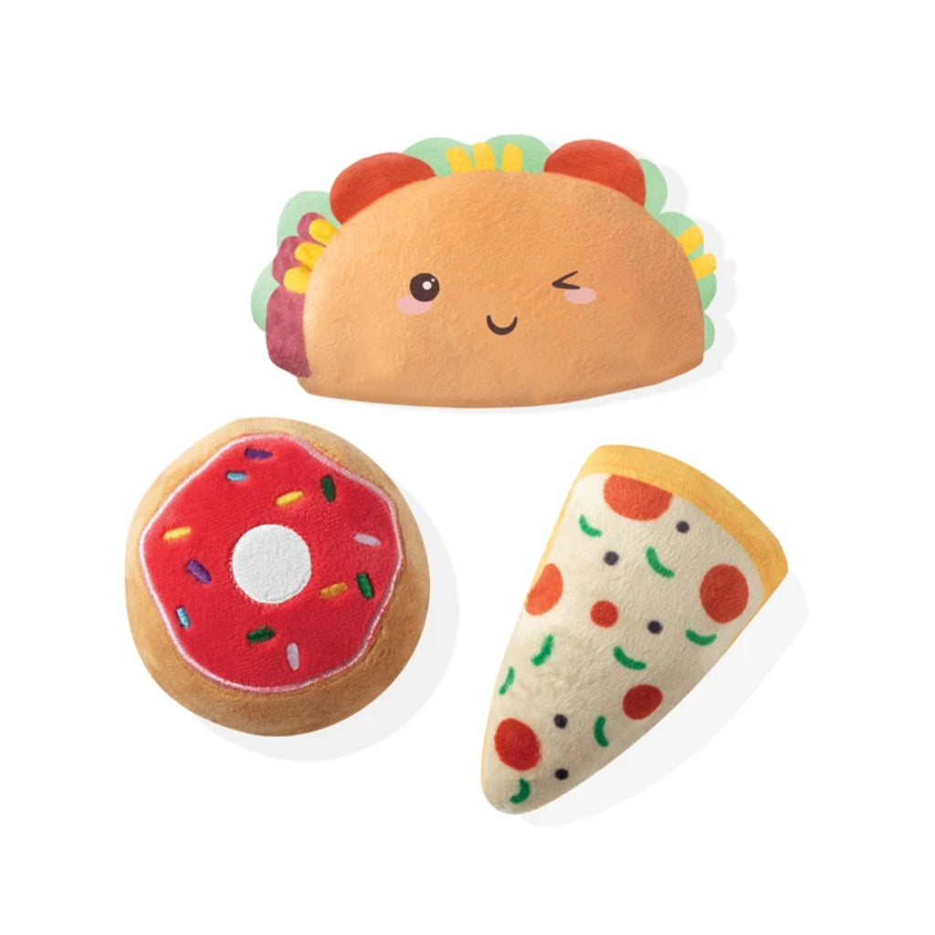Trendy Food Minis Small Dog Toy