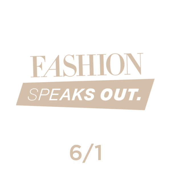 Fashion Speaks Out 2019