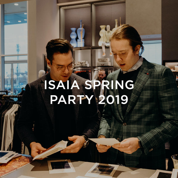 Isaia Spring Party