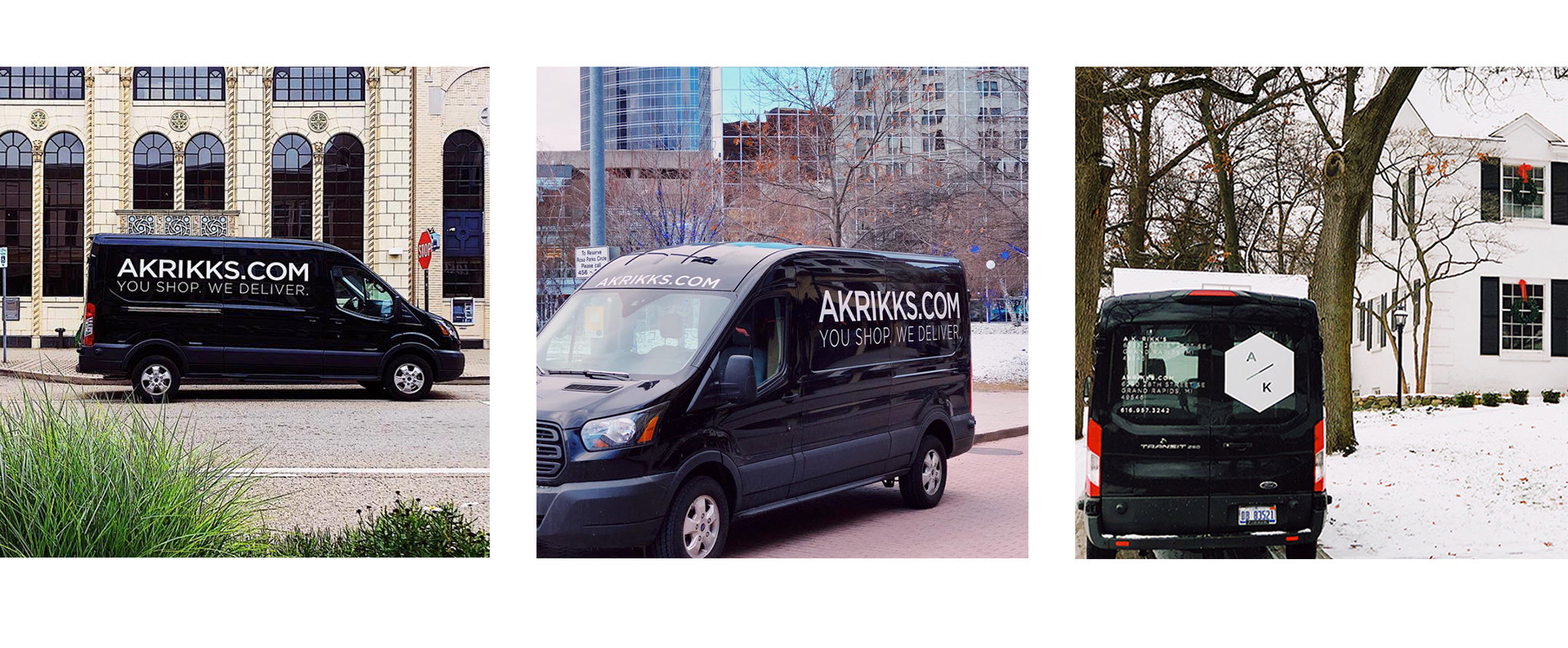 A.K. Rikk's Local Delivery Van: You Shop, We Deliver in Grand Rapids, Michigan
