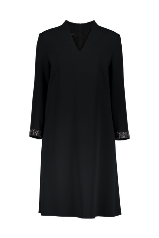 LS DUAVA DRESS BLACK