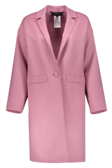 MISKIT COAT DARK ROSE