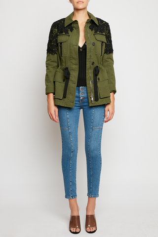 Heritage Jacket Army Green