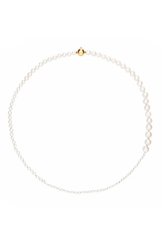 Petite Peggy 14K Yellow Gold & Freshwater Pearl Necklace