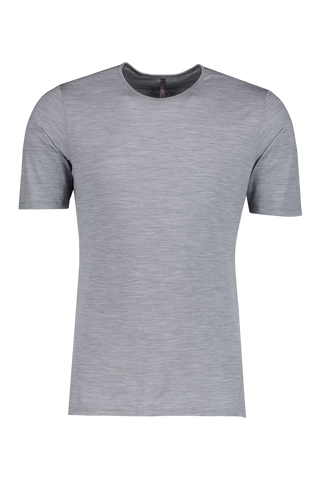 Front Image Of Frame Short Sleeve Shirt Ash Heather