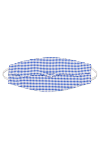 Gingham Seersucker Mask